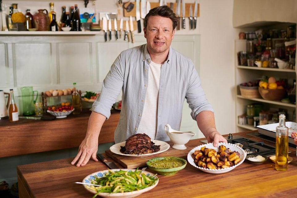 Jamie Oliver will be helping to teach children about food (Paul Stuart/PA) (PA Media)