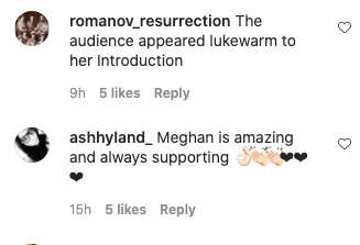 Meghan's surprise AGT appearance divided fans. Photo: Instagram.