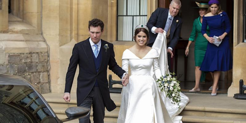 Princess Eugenie reveals stunning second wedding dress