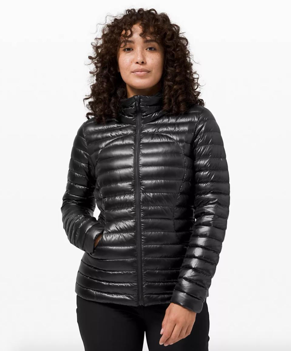 Pack It Down Jacket. Image via Lululemon.