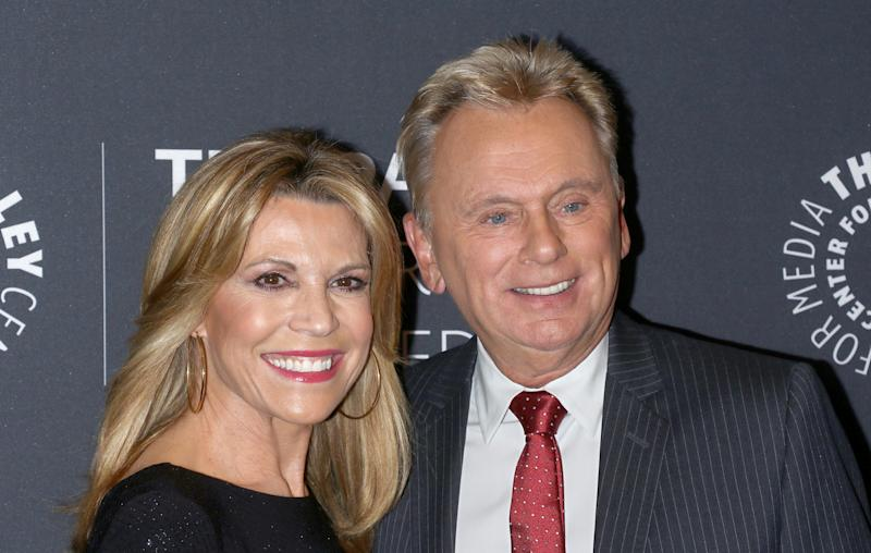 Vanna White took over Pat Sajak's Wheel of Fortune hosting duties in December while he recovered from surgery. (Photo: Jim Spellman/WireImage)