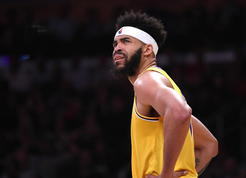 JaVale McGee is reportedly the latest celebrity target of burglars in Los Angeles. (Getty)