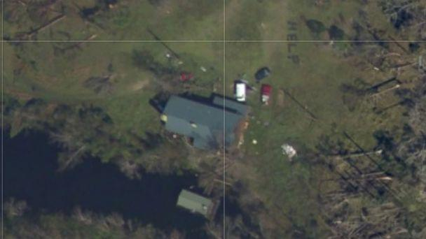 PHOTO: Amber Gee of Callaway, Florida, found her grandmother and other relatives in the aftermath of Hurricane Michael by using the NOAA interactive satellite map. (NOAA)