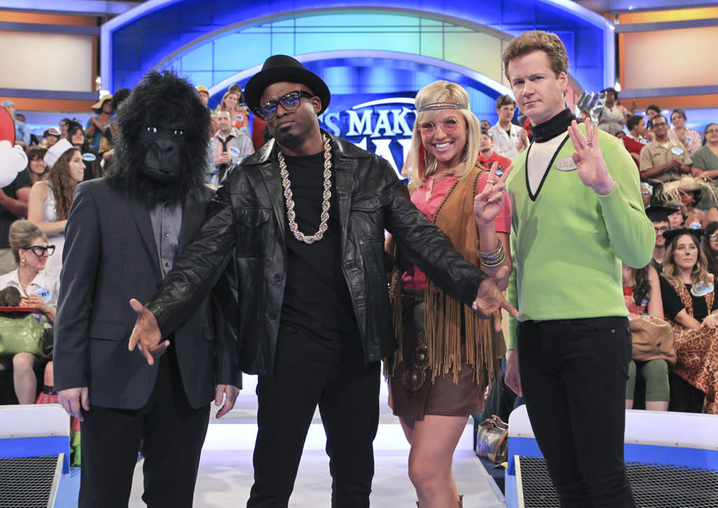 """<b>""""Let's Make a Deal""""</b> -- """"Halloween""""<br>Wednesday, 10/31 on CBS (check your local listings)<br><br>A Halloween celebration features costumed characters and contestants bobbing for apples in exchange for prizes."""