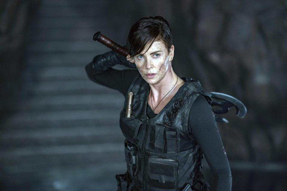 "<p>Netflix doesn't release its viewership numbers, but it's pretty safe to say that Gina Prince-Bythewood's graphic novel adaptation about immortal mercenaries was a hit! Thankfully, Charlize Theron has hinted that she would. be down to make a sequel…<a href=""https://variety.com/2020/film/news/old-guard-charlize-theron-sequel-netflix-1234712626/"" rel=""nofollow noopener"" target=""_blank"" data-ylk=""slk:someday"" class=""link rapid-noclick-resp"">someday</a>. </p> <p><a href=""https://www.netflix.com/watch/81038963?trackId=200256543&tctx=0%2C0%2C9a44274d-0ad9-44ff-8153-e940ec2e6b7d-362959450%2Cunknown%2C%2C"" rel=""nofollow noopener"" target=""_blank"" data-ylk=""slk:Available to stream on Netflix."" class=""link rapid-noclick-resp""><em>Available to stream on Netflix.</em></a></p>"