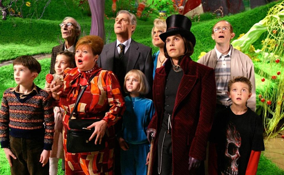 <p>Tim Burton and Johnny Depp's excessively eccentric take on arguably Dahl's best-loved book proved divisive. IMDb users rate it a 6.7, whilst Rotten Tomatoes readers are less kind, giving it a 51% audience score. Critics, however, were much kinder; it's rated 83% fresh. (Picture credit: Warner Bros) </p>