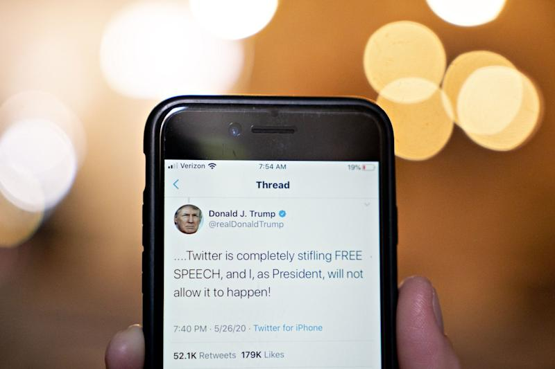 Trump Singles Out Twitter Employee for Fact-Checking Tweets