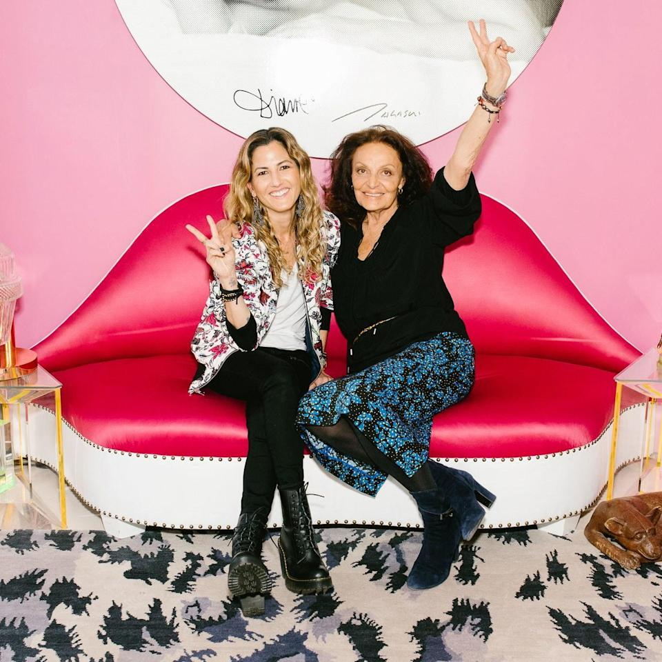 A powerful afternoon tête-à-tête with two of fashion's most fierce female bosses.