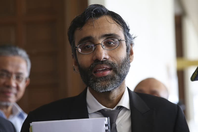Lawyer N. Surendran alleged that the Najib administration was 'guilty of the worst abuses of the Sedition Act 1948 in the history of independent Malaysia'. — Picture by Yusof Mat Isa