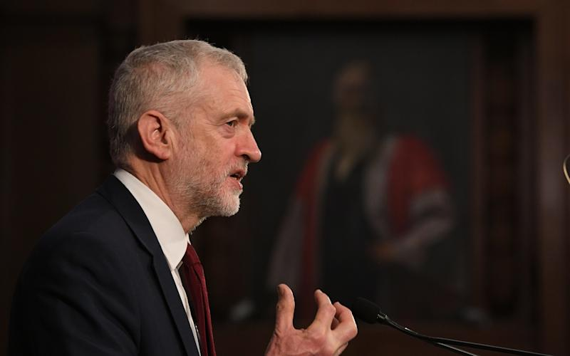 Mr Corbyn says he supporters