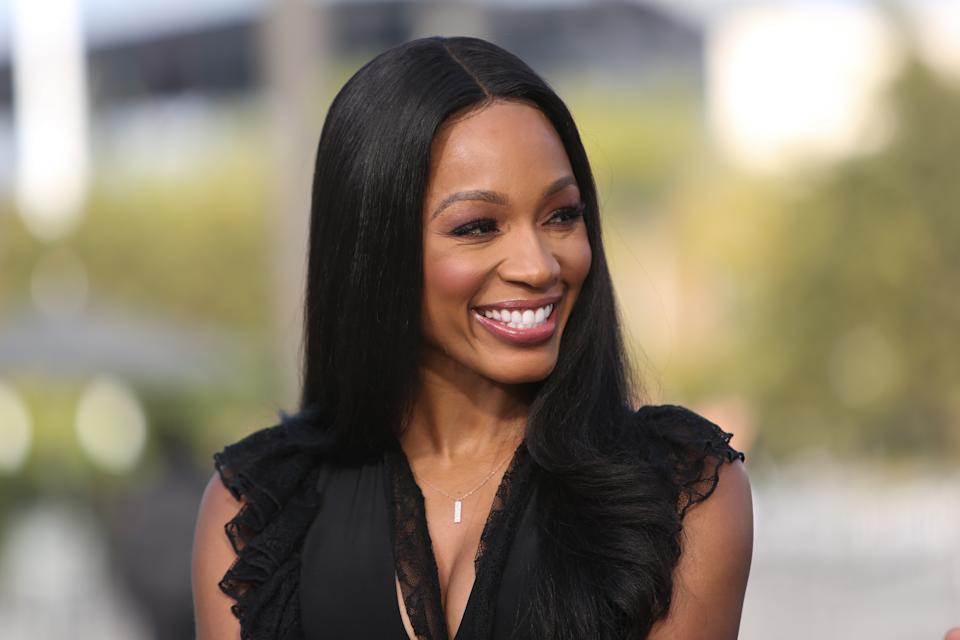 Cari Champion announced on Thursday that she's ending her seven-year tenure with ESPN. (Paul Archuleta/Getty Images)
