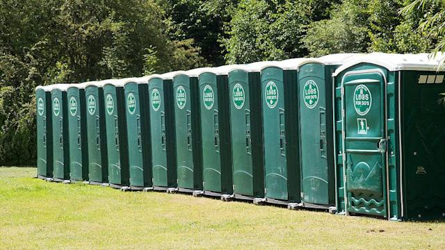 An ultrarunner has been shamed after race officials caught him using a port-a-potty to cheat. (Getty)