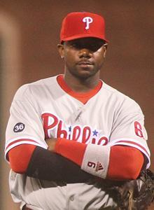Ryan Howard says he isn't worried about the Phillies being one loss from elimination