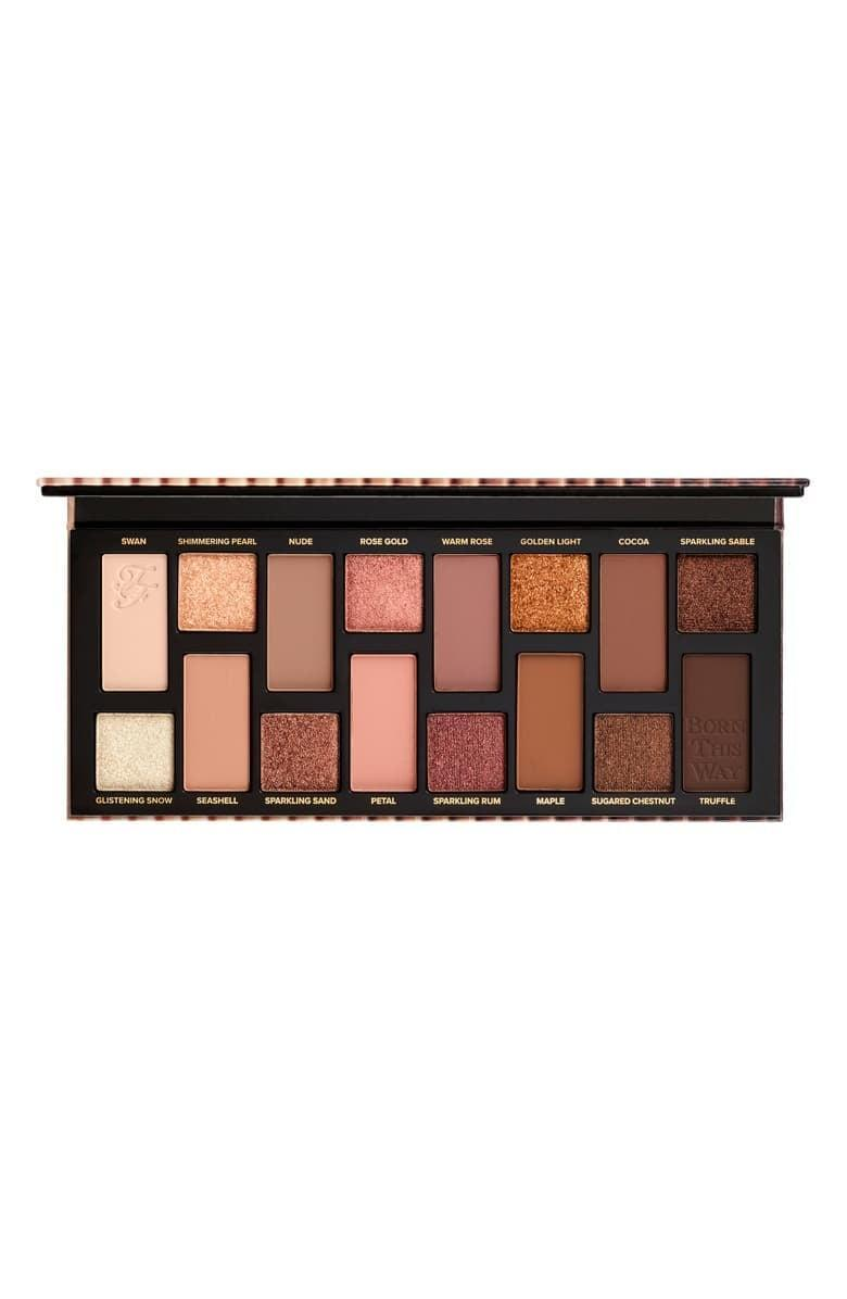 <p>If you love nudes and neutrals, you'll love the <span>Too Faced Born This Way The Natural Nudes Eyeshadow Palette</span> ($48). You can choose to go glam or keep it simple!</p>
