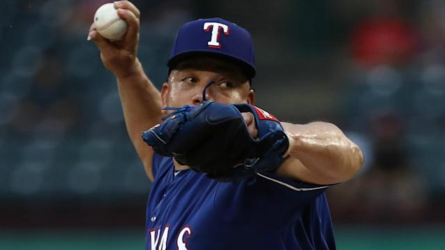 Colon spent 2018 in Texas after signing a one-year minor-league contract worth $1.75 million with the Rangers.