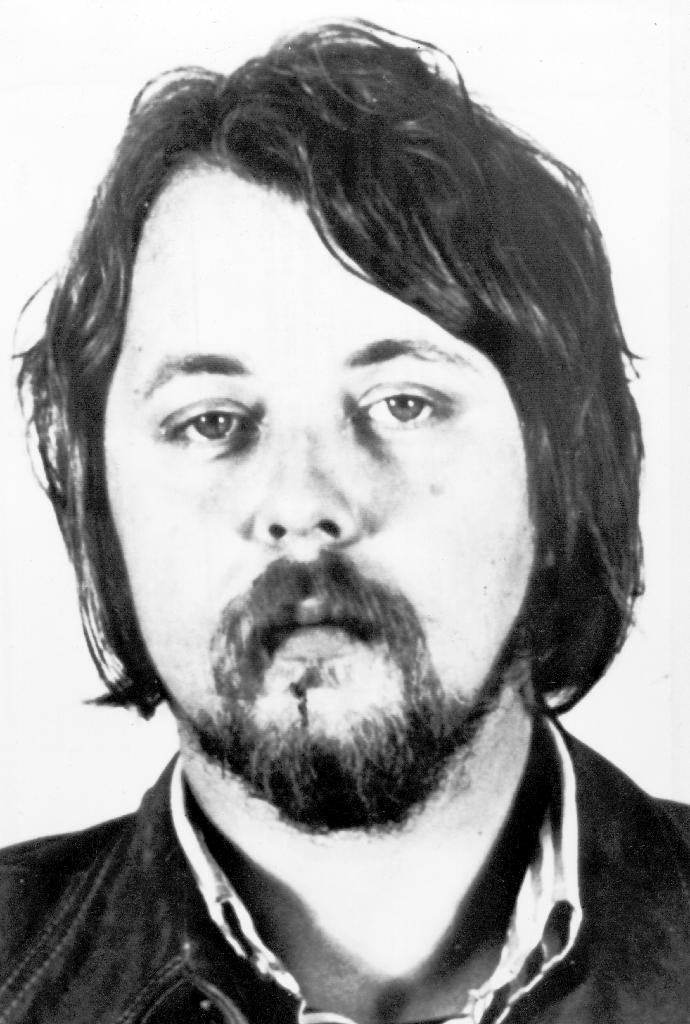 Undated photo of German national Wilfried Boese, one of the terrorists involved in the hijacking of Air France Flight 139 from Tel Aviv to Paris on June 27, 1976 (AFP Photo/)