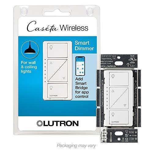 "<p><strong>Lutron</strong></p><p>amazon.com</p><p><strong>$48.99</strong></p><p><a href=""https://www.amazon.com/dp/B00KLAXFQA?tag=syn-yahoo-20&ascsubtag=%5Bartid%7C10055.g.35090968%5Bsrc%7Cyahoo-us"" rel=""nofollow noopener"" target=""_blank"" data-ylk=""slk:Shop Now"" class=""link rapid-noclick-resp"">Shop Now</a></p><p>Our engineering team noted they loved this switch so much because<strong> it works with so many smart home devices like motorized smart shades, ceiling fans, thermostats, and speakers.</strong> In addition to connecting over its own proprietary protocol using a <a href=""https://www.amazon.com/Lutron-Caseta-Wireless-Bridge-L-BDG2-WH/dp/B00XPW67ZM?tag=syn-yahoo-20&ascsubtag=%5Bartid%7C10055.g.35090968%5Bsrc%7Cyahoo-us"" rel=""nofollow noopener"" target=""_blank"" data-ylk=""slk:not-included smart bridge"" class=""link rapid-noclick-resp"">not-included smart bridge</a> (hub), this dimmer/switch supports 3-way wires, doesn't require a neutral wire for installation and has an easy-to-use, multi-button keypad. </p><p>But the top cool-factor is all of the features, including scheduling, scenes, zones, and geofencing (which means your lights will automatically turn on or off when you leave or arrive at home.) Although it's a bit more expensive than some other picks, the Lutron Caséta dimmer switch works with Amazon Alexa, Apple HomeKit, and Google Assistant, as well as SmartThings, Sonos, and <a href=""http://www.casetawireless.com/Pages/Alliances.aspx"" rel=""nofollow noopener"" target=""_blank"" data-ylk=""slk:many other"" class=""link rapid-noclick-resp"">many other</a> popular smart-home systems for ultimate control.</p>"
