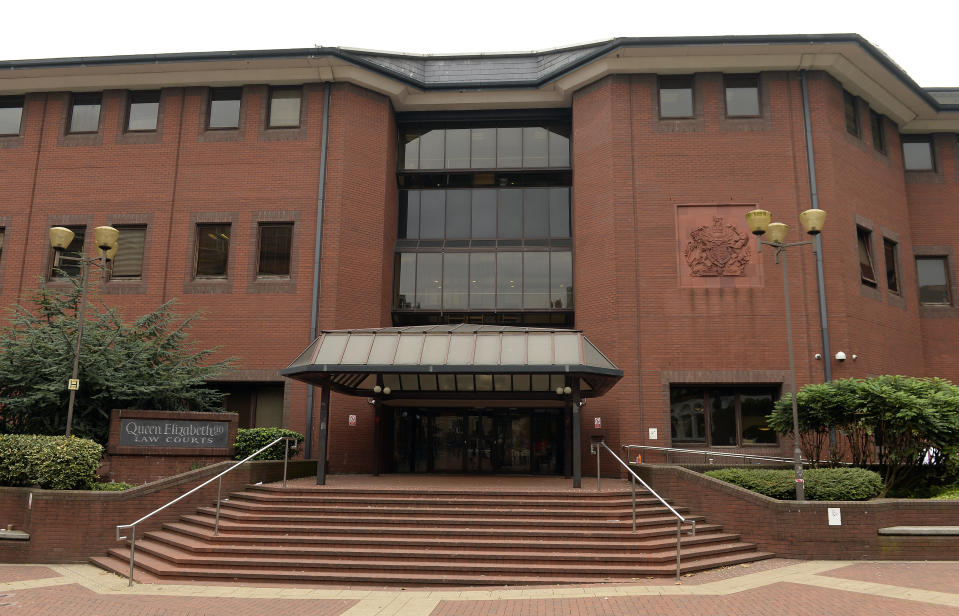 A general view of Birmingham Crown Court, Birmingham, where several men have appeared charged in connection with a child prostitution sex ring investigation. PRESS ASSOCIATION Photo. Picture date: Monday August 24, 2015. Eleven of the accused, all from London and the Midlands, are alleged to have facilitated the prostitution of a 15-year-old teenage boy and also face separate multiple sex offence allegations against a child. See PA story COURTS Boys. Photo credit should read: Joe Giddens/PA Wire