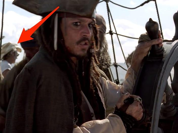 pirates of the carribbean guy in t shirt