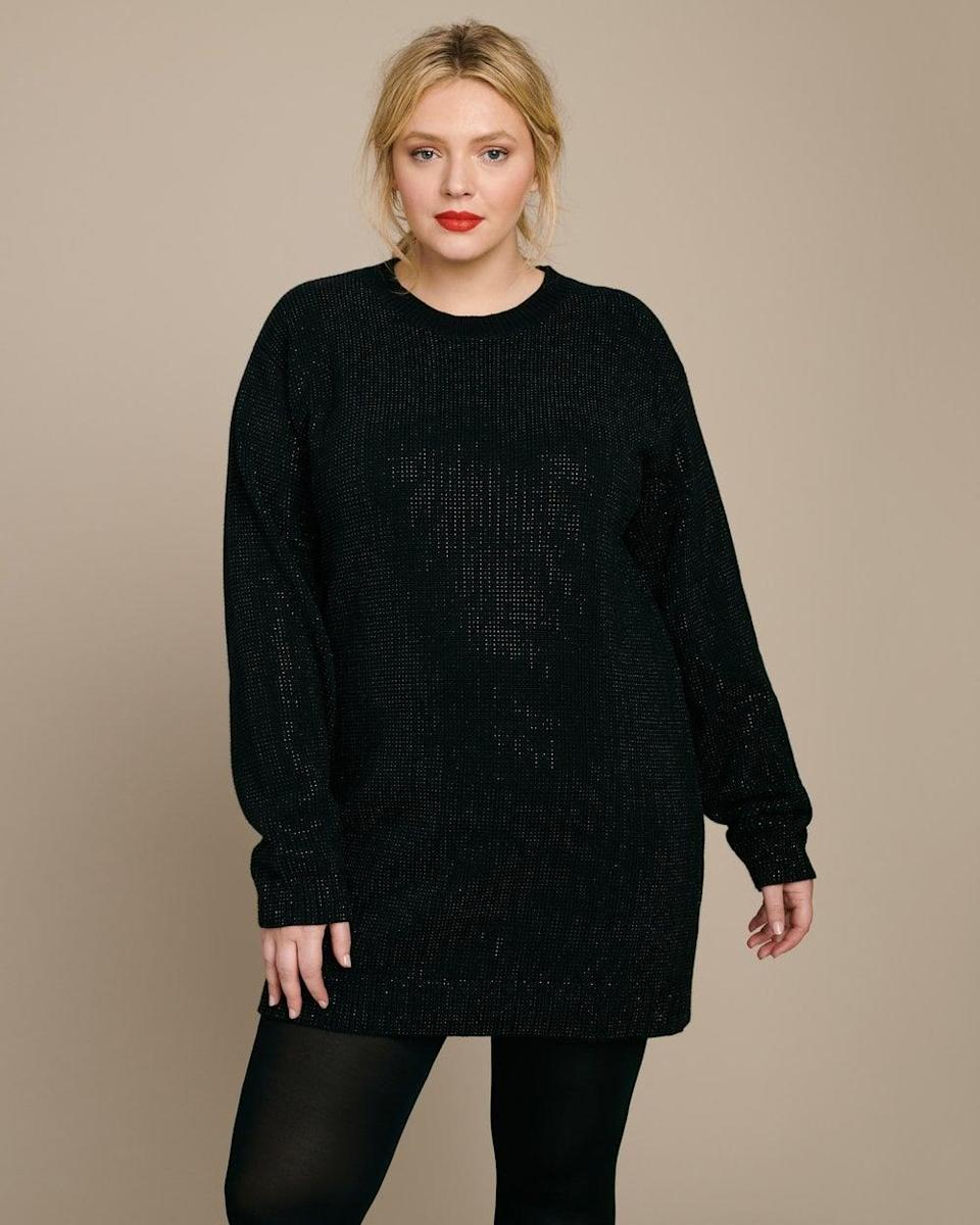 <p>This <span>RTA Celeste Sweater Dress</span> ($455) looks great with tights and boots.</p>