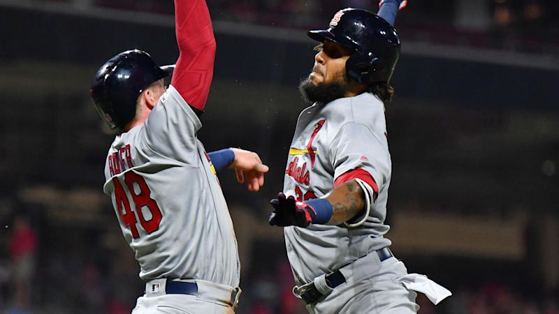 Cardinals mount comeback against Reds