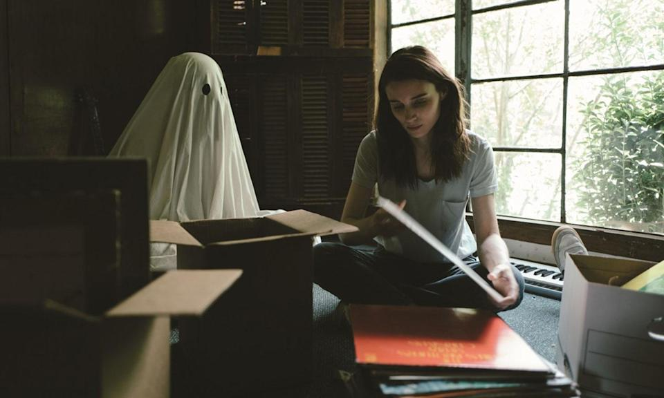 "<p>Even though it's my number one film of the year, I will probably never watch 'A Ghost Story' again. It's the most profound exploration of death and grief I have ever seen, and I'm considering that a good thing, apparently. – <i><a href=""https://twitter.com/cinewipe"" rel=""nofollow noopener"" target=""_blank"" data-ylk=""slk:Chris Edwards"" class=""link rapid-noclick-resp"">Chris Edwards</a></i>. (Lionsgate) </p>"