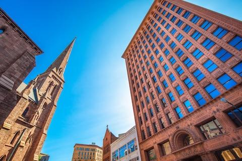 The Guaranty building - Credit: getty