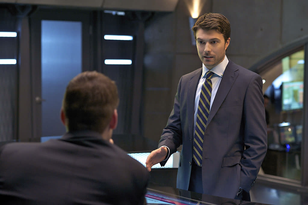 "Noah Bean as Ryan in the ""Nikita"" Season 3 episode, ""3.0."""