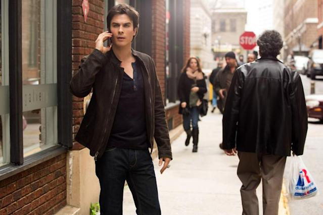 """Because the Night"" -- Ian Somerhalder as Damon"