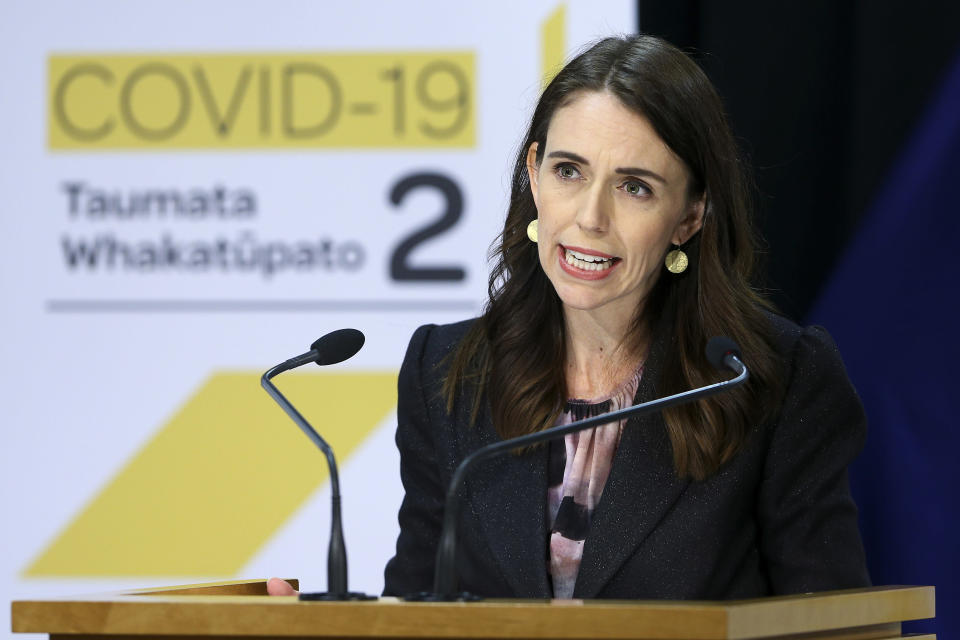 New Zealand prime minister Jacinda Ardern has won plaudits for her handling of the coronavirus crisis. (AP)