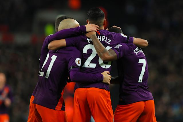 An early strike from an emotional Riyad Mahrez have City a 1-0 win over Tottenham