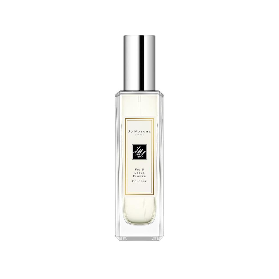 """<p>£50</p><p><a class=""""body-btn-link"""" href=""""https://go.redirectingat.com?id=127X1599956&url=https%3A%2F%2Fwww.jomalone.co.uk%2Fproduct%2F25946%2F79589%2Fcolognes%2Ffig-lotus-flower-cologne%3Fsize%3D30ml&sref=https%3A%2F%2Fwww.redonline.co.uk%2Fbeauty%2Fproduct-reviews%2Fg27251672%2Fbest-new-perfume-for-spring%2F"""" target=""""_blank"""">SHOP NOW</a></p><p><strong>If you like: florals and fig</strong></p><p>This new (and thankfully, permanent) addition to the Jo Malone cologne collection takes its inspiration from the ancient Hanging Gardens. This light, calming scent evokes lotus flowers floating over shimmering water, punctuated by ripe, juicy fig (in my opinion, one of the most underrated fragrance notes). </p><p>There are, of course, countless brilliant Jo Malone perfumes, but this one is really a stand-out.</p>"""