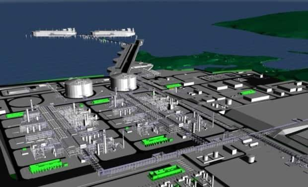 Pieridae Energy is proposing to liquefy natural gas from the Maritimes and Northeast Pipeline at a plant to be built in Goldboro, Guysborough County, and ship it by sea.