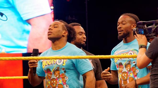 xavier woods, wwe, paige, the new day