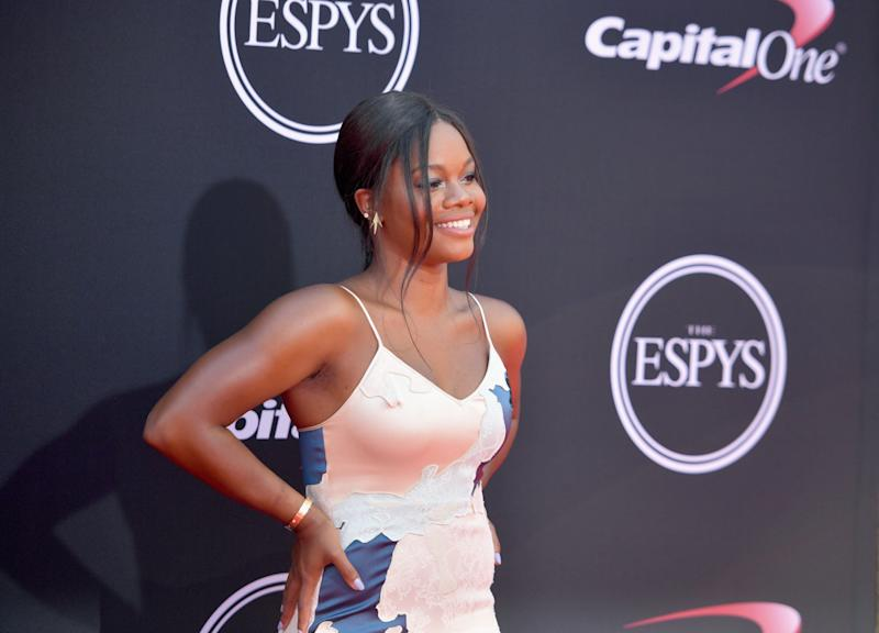 Gabby Douglas also apologized for a tweet she wrote last week that criticized women who dress provocatively after fellow Olympian Aly Raisman revealed she'd been abused by Larry Nassar.