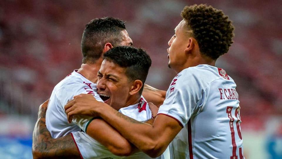 2020 Brasileirao Series A: Internacional v Fluminense Play Behind Closed Doors Amidst the | Getty Images/Getty Images