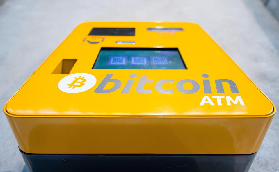 A bitcoin ATM (PA Archive)