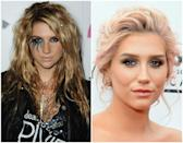 <p>Between get-noticed stage costumes and in-your-face makeup, Ke$ha was never an artist to be ignored. Recently, though, the star has not only dropped the dollar sign in her name (opting for a simple 'S' instead), she's also chosen to wear more neutral tones on the reg. And while she still plays with fun hair trends — the blush pink hair in her is almost angelic — this more calming look seems way more her speed. </p>