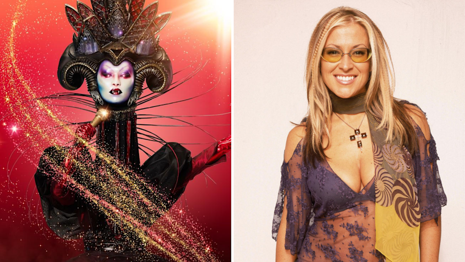 The Masked Singer's Vampire and Anastacia.