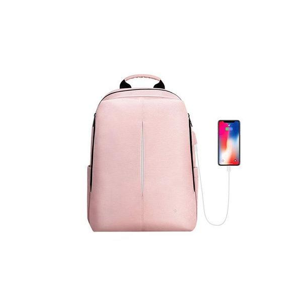 """More backpacks with phone chargers, please! $33, Amazon. <a href=""""https://www.amazon.com/Backpack-Nano-Molecular-Repellent-Charging-Business/dp/B07SZH7SR8/"""" rel=""""nofollow noopener"""" target=""""_blank"""" data-ylk=""""slk:Get it now!"""" class=""""link rapid-noclick-resp"""">Get it now!</a>"""