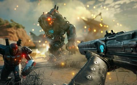 <span>Rage 2 is a full-throttled single-player FPS released next year</span>