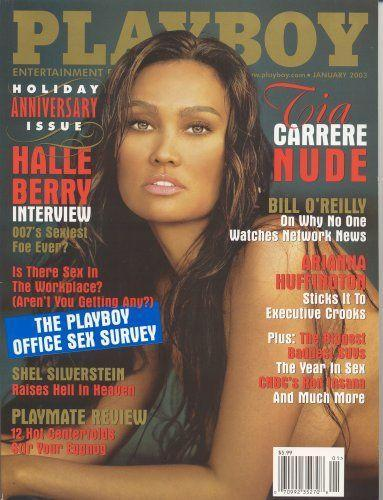 <p><strong>Issue: </strong>January 2003</p><p>Tia Carrere was a sultry, damp-haired goddess on the January 2003 cover. </p>