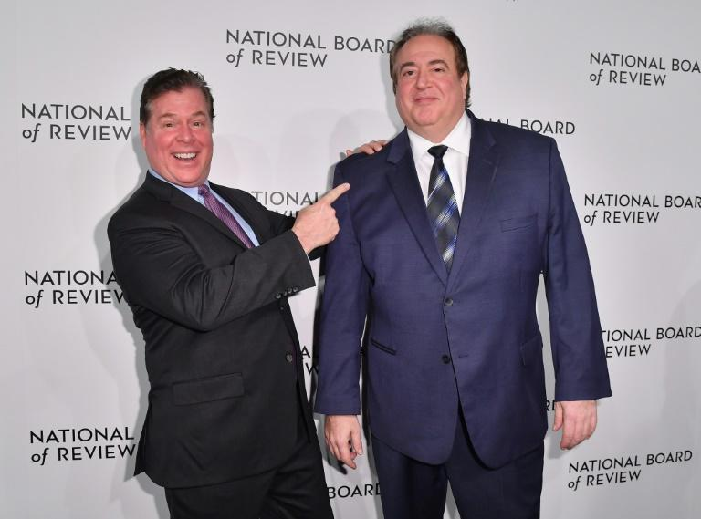 """Green Book"" co-writers Brian Currie (L) and Nick Vallelonga (R) attend the 2019 National Board of Review Gala on January 08, 2019 in New York"