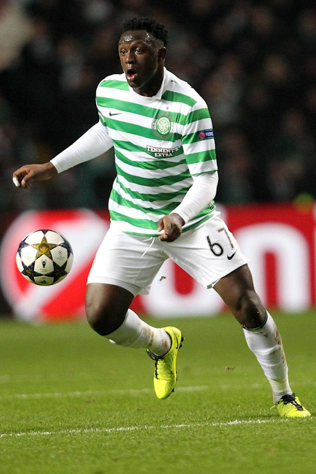 File photo dated 12/02/2013 of Victor Wanyama, Celtic. PRESS ASSOCATION Photo. Issue date: Monday May 13, 2013. The award for top player aged 21 and under goes to Celtic's Victor Wanyama after the Kenyan midfielder played a key role in the Hoops' second successive title win. See PA story SOCCER SPL. Photo credit should read: Lynne Cameron/PA Wire.