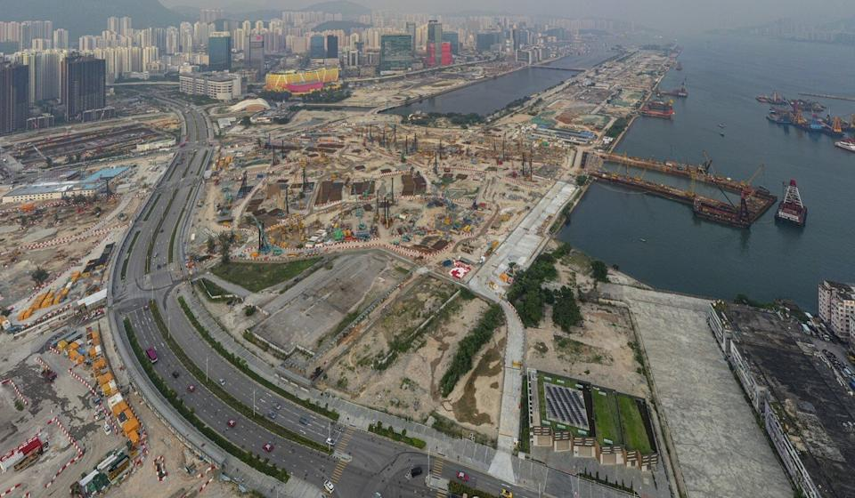 About 6.5 million sq ft of new office space will become available at Kai Tak in the coming years. Photo: Martin Chan