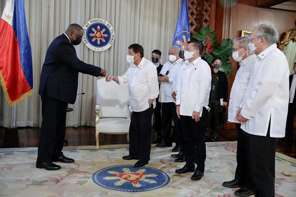 Philippines Asia US Defense (Malacanang Presidential Photographers Division)