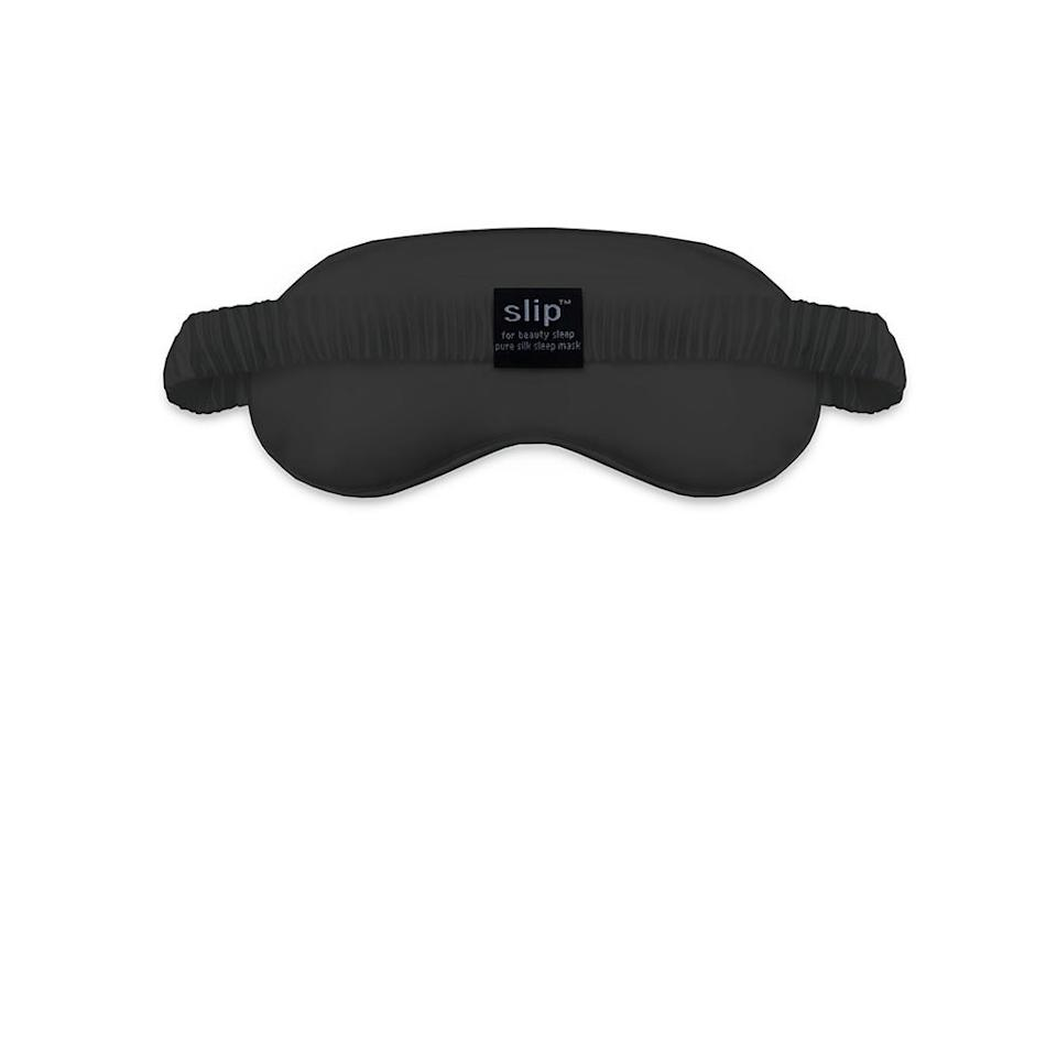 """<h2>Slip Silk Sleep Mask</h2> <p>Yet another benefit of single life is being able to sleep as late as you want to on the weekends, without interruption by bored boyfriends or screaming babies. Celebrate this enviable aspect of her life with the 100% silk sleep mask from cult (and Jen Atkin)-favorite Silk.</p> <p><a href=""""http://www.slipsilkpillowcase.com/products/sleep-mask-black"""" rel=""""nofollow noopener"""" target=""""_blank"""" data-ylk=""""slk:Slip Silk Sleep Mask"""" class=""""link rapid-noclick-resp"""">Slip Silk Sleep Mask</a>, $45</p> <h4>Slip</h4>"""
