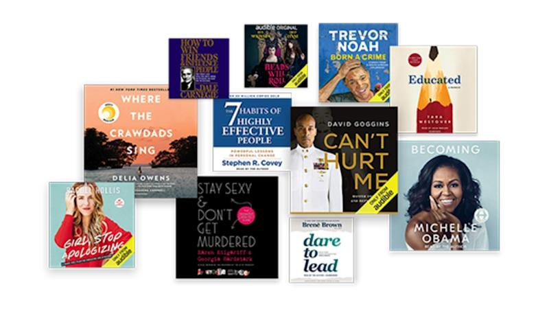 Got a list of books to read? Take them on the go with Audible. (Photo: Amazon)