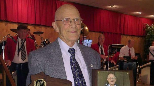 PHOTO: Elmer Hayes was awarded the Lifetime Achievement Award from the Wisconsin Polka Hall of Fame, a nonprofit organization. (Courtesy Hayes family)