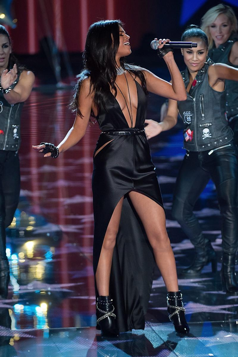 Selena Gomez performed at the 2015 Victoria's Secret Fashion Show in New York City. (Photo: Getty Images)